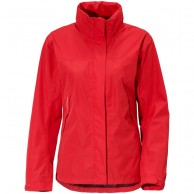 Didriksons Grand, Rain jacket, women, red