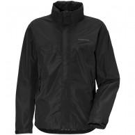 Didriksons Grand, Rain jacket, men, black