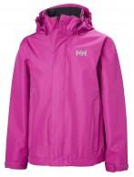 Helly Hansen JR Seven J Rain Jacket, pink