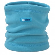 Kama Kids  neck warmer, Tecnopile fleece, cyan