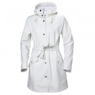 Helly Hansen W Kirkwall II Rain Jacket, womens, white