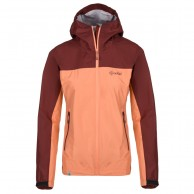 Kilpi Hurricane-W rainjacket, women, bordeaux/pink