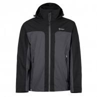 Kilpi Ortler-M rainjacket, men, dark grey