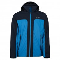 Kilpi Ortler-M rainjacket, men, blue