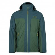 Kilpi Ortler-M rainjacket, men, khaki