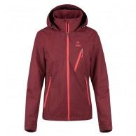 Kilpi Ortler-W rainjacket, women, dark red