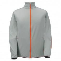 2117 of Sweden Essunga mens fleece jacket, grey