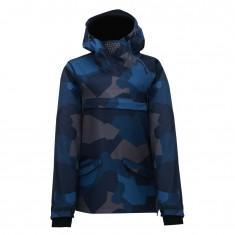 2117 of Sweden Hentorp shell jacket, men, navy camo