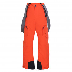 2117 of Sweden Isfall, ski pants, junior, flame