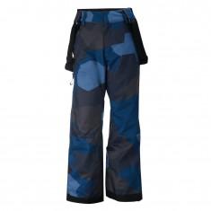 2117 of Sweden Lammhult, ski pants, junior, navy camo