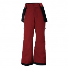 2117 of Sweden Lammhult, ski pants, junior, wine red