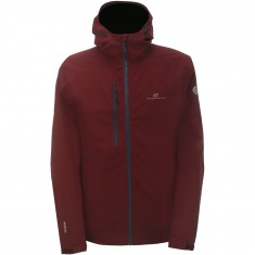 2117 of Sweden Sundet, Rain Jacket, Men, Wine Red