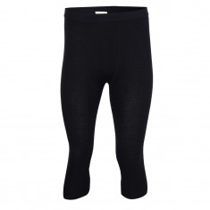 2117 of Sweden Ullånger, underwear pants 3/4, men, black