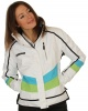 DIEL Ultra, womens ski jacket, white/blue