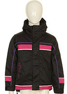 DIEL Kids ski jacket, black