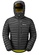 Montane Featherlite Mens Down Jacket, black