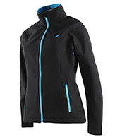 4F Greta womens softshell jacket, Black