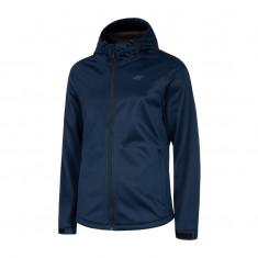 4F Adam, softshell jacket, men, dark blue
