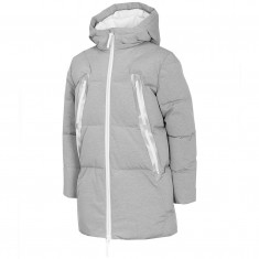 4F Alba, winter jacket, junior, grey melange