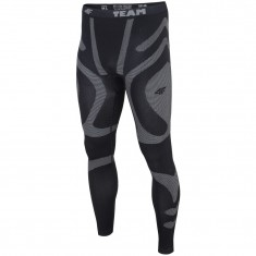 4F baselayer pants, men, dark grey
