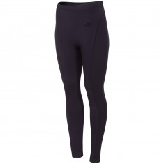 4F baselayer pants, women, black
