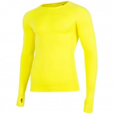 4F baselayer top, men, yellow