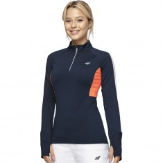 4F baselayer top, women, dark blue