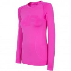 4F baselayer top, women, pink