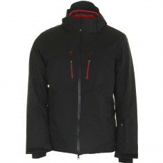 4F Bertil, ski jacket, men, black