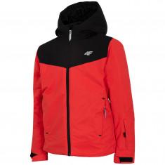 4F Carl, ski jacket, junior, red