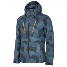 4F Casper, ski jacket, men, blue camo