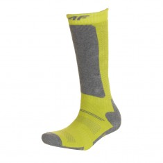 4F Cheap Ski Socks, kids, lemon