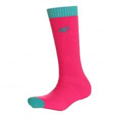 4F Ski Socks, kids, pink