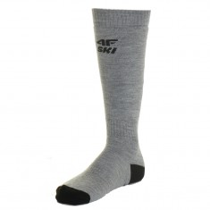 4F Ski Socks, men, grey