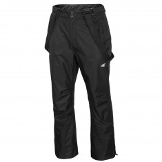 4F Conrad, ski pants, men, black