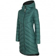 4F Dana, down jacket, women, dark green