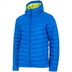 4F David, down jacket, men, dark blue