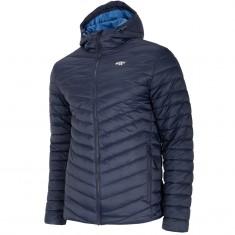 4F Dennis, down jacket, men, dark blue