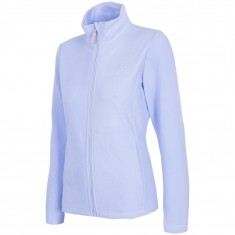 4F fleece jacket, women, light blue