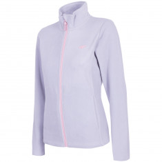 4F fleece jacket, women, light grey
