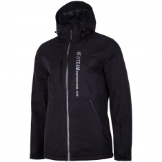 4F Kevin, ski jacket, men, black