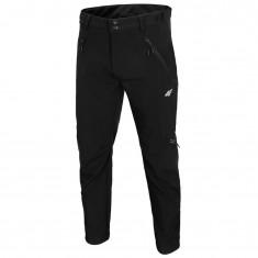 4F Landon, rain pants, men, black