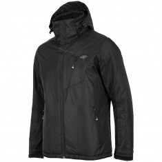 4F Leslie ski jacket, mens, black