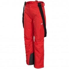 4F Lora, ski pants, women, red
