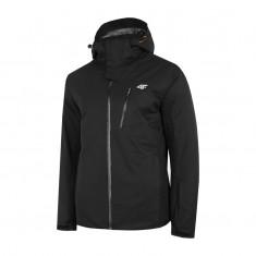 4F Loui, ski jacket, men, black