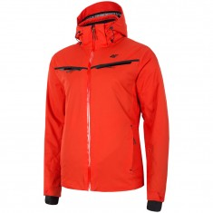 4F Lucas, ski jacket, men, red