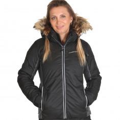 4F Marina womens ski jacket, black