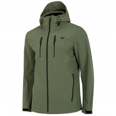 4F Mason, softshell jacket, men, olive