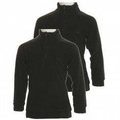4F Microtherm fleece shirt, 2-pack, junior, black