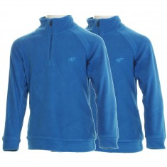 4F Microtherm fleece shirt, 2-pack, junior, blue